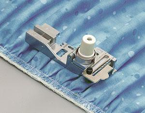 Лапка для вшивания резинки или лески