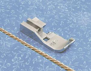 Лапка для вшивания кордовой ленты 5мм